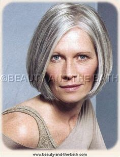 classic hairstyles for gray hair grey hair styles on pinterest aging gracefully bobs and