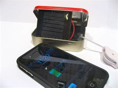 altoids solar charger solar altoids iphone ipod charger make it your library