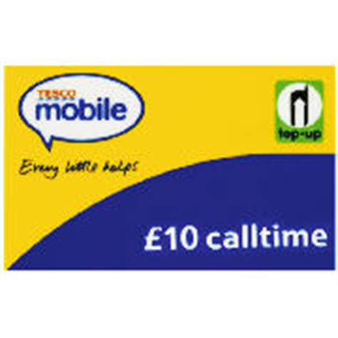 tesco mobile top up tesco mobile 163 10 top up voucher review compare prices