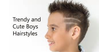 43 trendy and boys hairstyles for 2018
