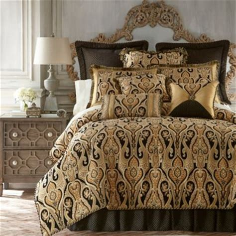 black and comforter set buy gold and black bedding sets from bed bath beyond