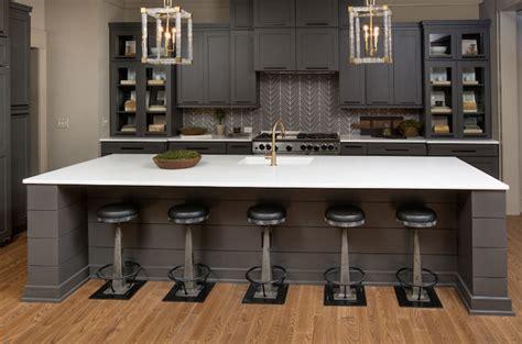 Rhino White Quartzite Countertops   Contemporary   kitchen