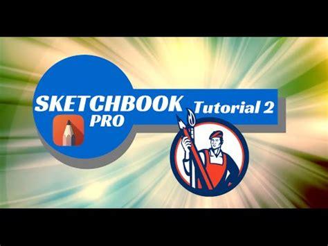 sketchbook pro not available sketchbook pro for the desktop tutorial 2 drawing tools