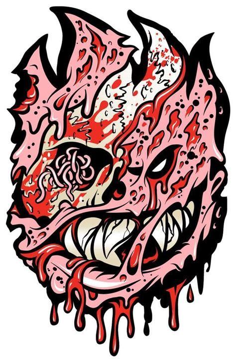 Lc919 Tato Temporer Sticker Joker spitfire skate graphics logos