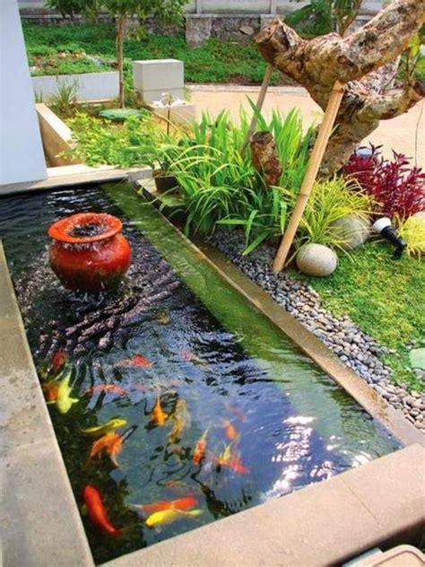 kolam ikan kecil minimalis google search garden fish ponds backyard ponds backyard pond