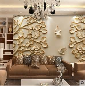 bring your walls alive with 3d panels wallpapers for living room design ideas in uk