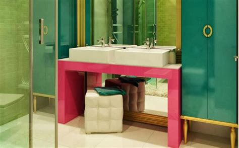 Pink Bathroom Color Schemes by Amazing Ideas For Bathroom Interiors All On Style