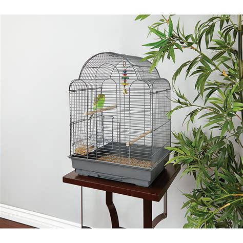best cage you me parakeet scallop top cage petco