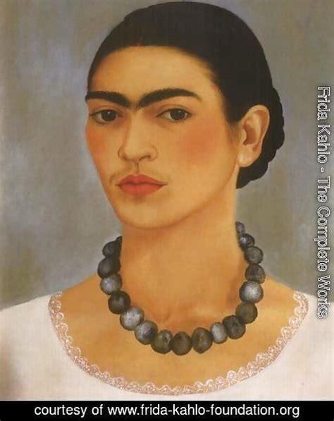 frida kahlo self portrait biography frida kahlo the complete works frida kahlo foundation org