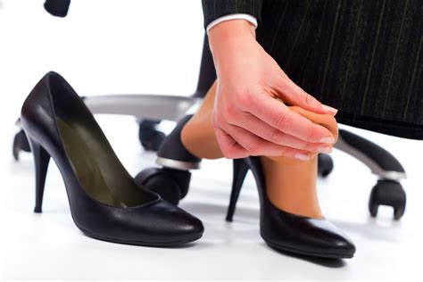 wear high heels canadian employees no longer forced to wear high heels