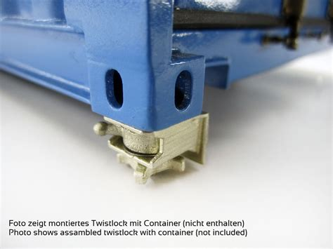 Twist Lock - finescale twistlock for comvec container 29 00