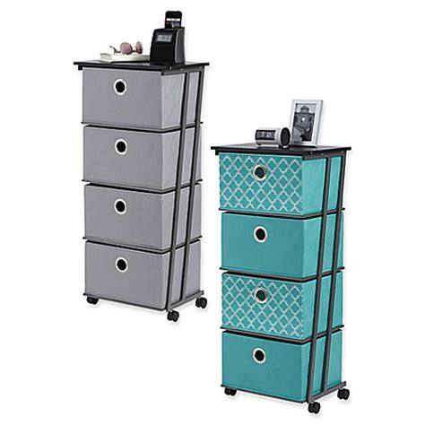 bed bath and beyond drawers studio 3b 4 drawer storage cart bed bath beyond