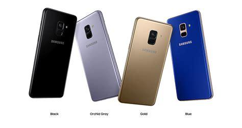 Samsung A8 Warna Hitam meluncur pekan depan ini harga samsung galaxy a8 2018 dan a8 2018 di indonesia rancah post