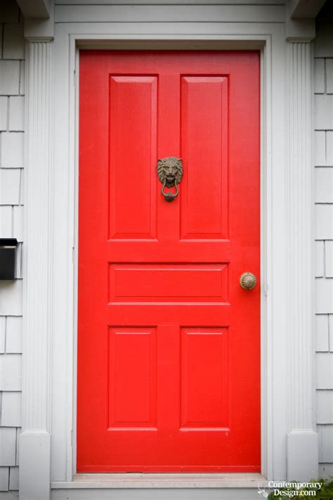 red front doors red front door meaning