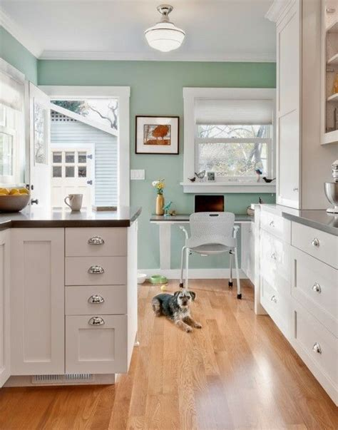 the pretty aqua paint color benjamin kensington green 710 by joan paint