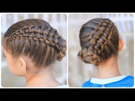 cute hairstyles with braids youtube zipper braid updo cute girls hairstyles youtube