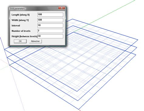 sketchup layout grid sketchup grid plugin