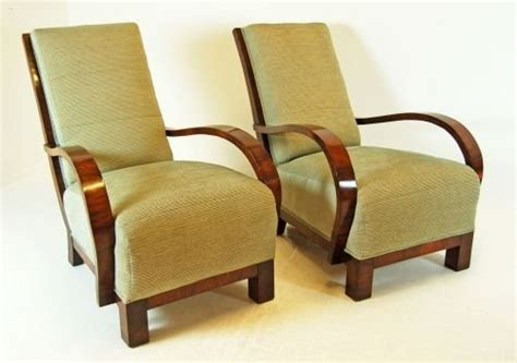 Deco Armchairs Uk by Deco Original Pair Antique Armchairs Club Chair