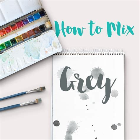 acrylic paint mixing silver how to mix grey acrylic paint color theory ashleypicanco