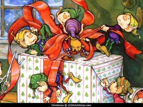 wallpaper christmas elf christmas elves elf wallpapers for free download
