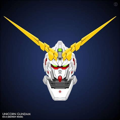 Jaket Gundam Unicorn E F S F Army Canvas Ja Gdu 07 gundam vector mobilesuit mecha plamo unicorn gundam unicorn rx 0 destroy mode gundam