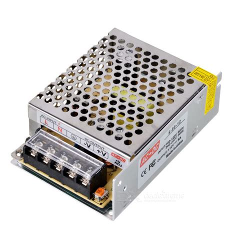 inductorless ac dc converter 60w 12v 5a ac dc power supply converter for led light silver free shipping dealextreme