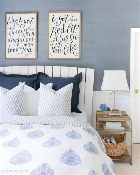 hanging upholstered headboard how to hang artwork must have tips driven by decor