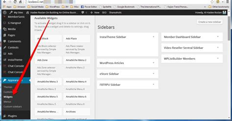 wordpress sections use wordpress footer widgets to enhance your website