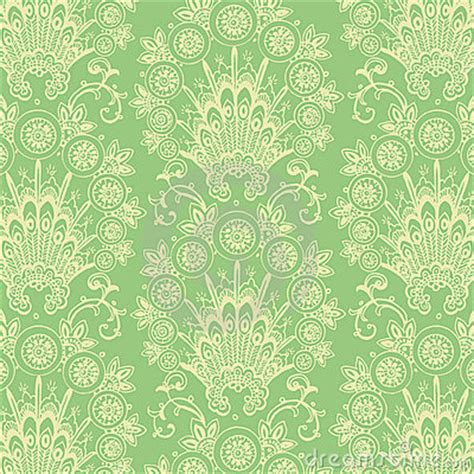 green vintage pattern wallpaper 10677 green antique vintage flower background royalty free stock