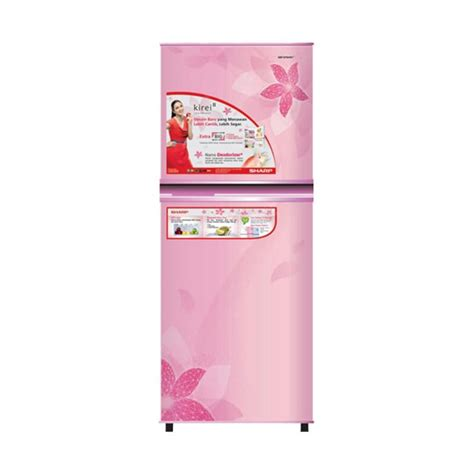 Kulkas Sharp New Kirei jual sharp sj 236nd fp kirei ii refrigerator kulkas