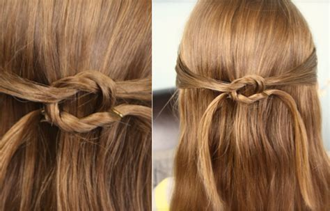 cute girl hairstyles knot knots cute girls hairstyles