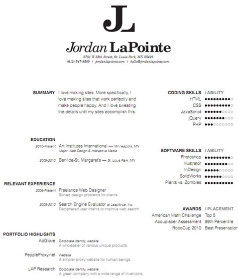 amazing resumes exles 30 amazingly creative exles of designer resumes