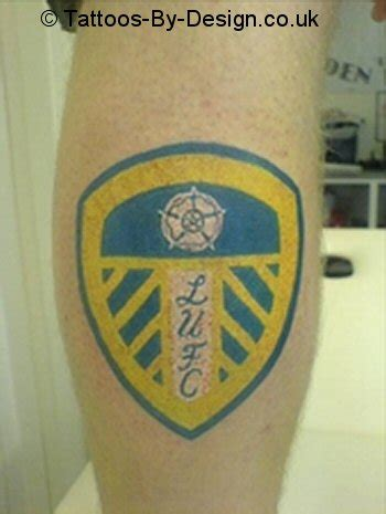 leeds united tattoo designs leeds united badge