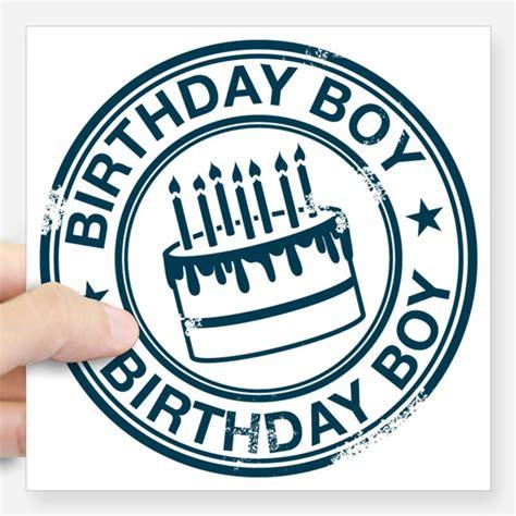 Birthday Boy birthday boy stickers cafepress