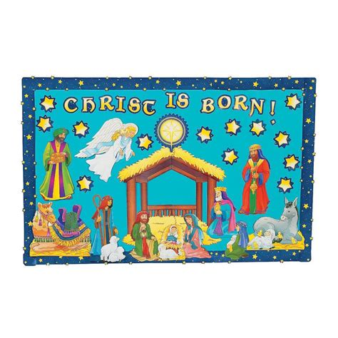 printable nativity scene for bulletin board 17 best images about christmas bulletin boards on
