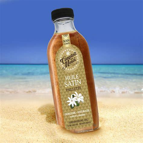 le comptoir du monoi gel paillet 233 tiar 233 monoi la tahitienne 100ml la boutique