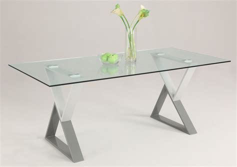 Dining Room Furniture Michigan Contemporary Rectangular Glass Dining Table Top With