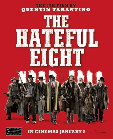 quentin tarantino film the hateful eight the hateful eight uk age rating confirmed as 18