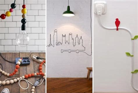 Decorating Ideas To Hide Wires 20 Creative Diy Suggestions To Hide The Wires In The Wall