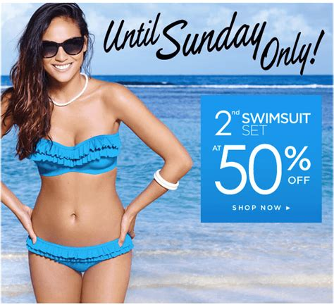 Gw Se 11 I Big Swimsuit la vie en canada offers buy 1 swimsuit get second at 50 2 bras for 30 2 camis or
