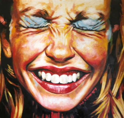 painting up saatchi up laugh make up painting by saliot
