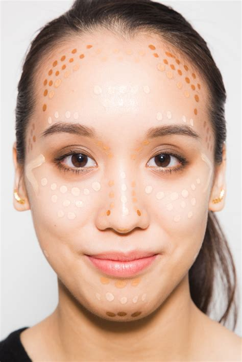 oblong face shape with big nose the ultimate cheat sheet to contouring your face