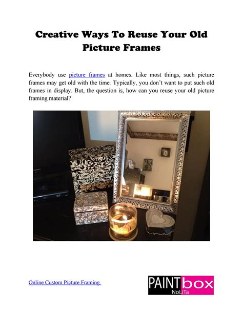 5 Ways To Reuse Picture Frames Creative Ways To Reuse Your Picture Frames By