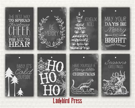 printable rustic christmas gift tags printable christmas tags chalkboard christmas tags rustic