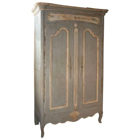 Modern Wardrobe Armoire by Early 19th Century Provencale Armoire In Painted