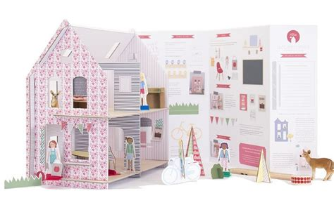 doll house kits to build easy to make cardboard dollhouse kits
