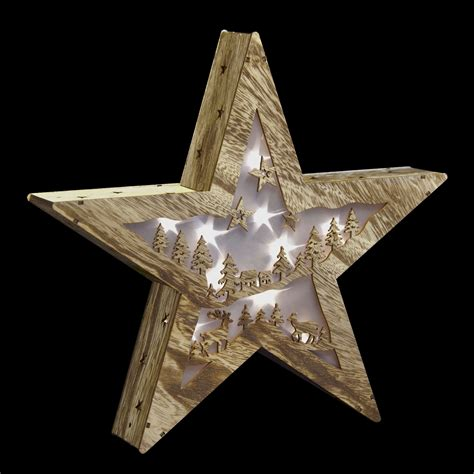 shorten led christmas lights neutral star standing led lights christmas cut out wood