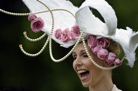 royal ascot hats ladies day at royal ascot the hats go wild