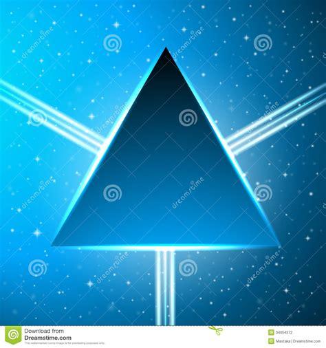 imagenes abstractas azul escuro tri 226 ngulo azul em um fundo c 243 smico abstrato