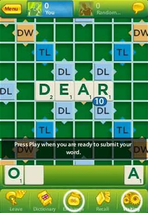 scrabble app for android free scrabble app for iphone ipod touch android